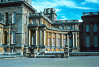 Sir John Vanbrugh: Blenheim Palace, Northern Range. Photo '05.