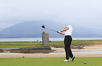 Philip Byrne (Ballybunion) on the 9th tee during the Munster Final of the AIG Junior Cup at Tralee Golf Club, Tralee, Co Kerry. 13/08/2017<br /> Picture: Golffile | Thos Caffrey<br /> <br /> <br /> All photo usage must carry mandatory copyright credit     (&copy; Golffile | Thos Caffrey)