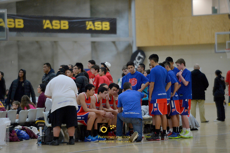 2013 U15 National Championship Basketball Tournament at ASB Sports Centre, Kilbirnie, Wellington, New Zealand on Thursday 25 July 2013. <br /> Photo by Masanori Udagawa. <br /> www.photowellington.photoshelter.com