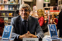 Denis Moniere<br />  at montreal book fair, November 2015,<br /> <br /> <br /> PHOTO : Philippe Manh Nguyen - Agence Quebec Presse