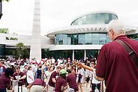 Alumni Association Senior Celebration at the Hunter Henry Center.<br />  (photo by Megan Bean / &copy; Mississippi State University)