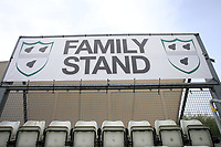 General view of the Family Stand sign ahead of Worcestershire CCC vs Essex CCC, Specsavers County Championship Division 1 Cricket at Blackfinch New Road on 11th May 2018
