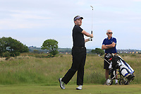 Stephen Healy (Royal Dublin) on the 15th tee during Round 3 of the East of Ireland Amateur Open Championship 2018 at Co. Louth Golf Club, Baltray, Co. Louth on Monday 4th June 2018.<br /> Picture:  Thos Caffrey / Golffile<br /> <br /> All photo usage must carry mandatory copyright credit (&copy; Golffile | Thos Caffrey