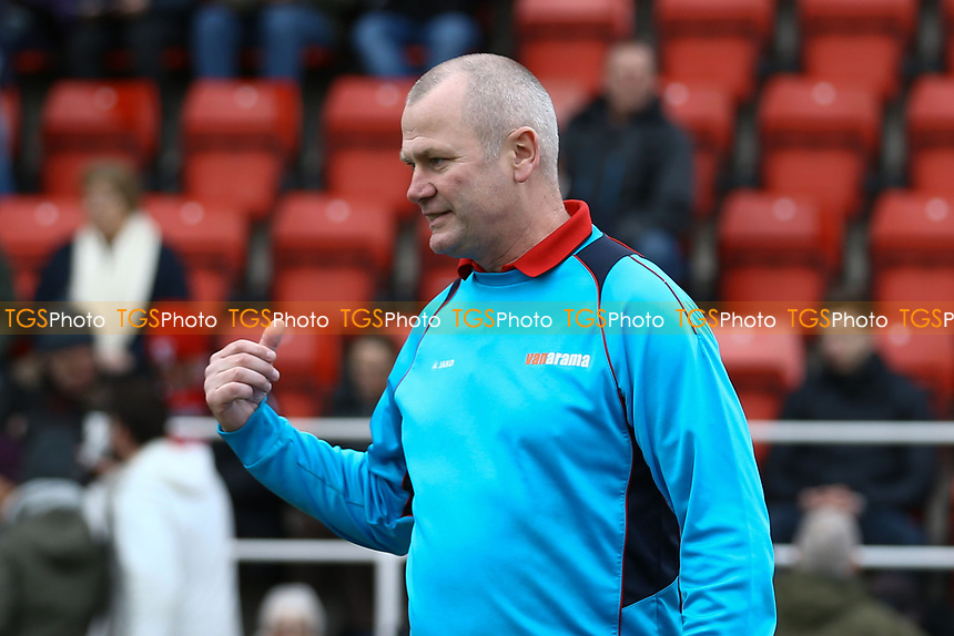 Woking manager Alan Dowson during Woking vs Watford, Emirates FA Cup Football at The Laithwaite Community Stadium on 6th January 2019