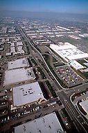 Silicon Valley, California - February 1983. Aerial view of Silicon Valley. Silicon Valley is the largest high-tech manufacturing center in the United States, and is the region most famous for innovations in software and Internet services.