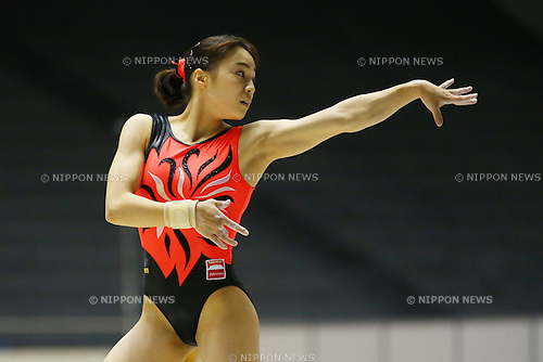 Matsumi Sasada, <br /> JUNE 5, 2016 - Artistic Gymnastics : <br /> The 70th All Japan Artistic Gymnastics Apparatus Championship <br /> Women's Floor Final <br /> at 1st Yoyogi Gymnasium, Tokyo, Japan. <br /> (Photo by YUTAKA/AFLO SPORT)