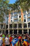 Diada Nacional 2017.<br /> Hotel Casa Fuster.