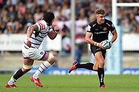Ollie Devoto of Exeter Chiefs goes on the attack. Gallagher Premiership match, between Exeter Chiefs and Leicester Tigers on September 1, 2018 at Sandy Park in Exeter, England. Photo by: Patrick Khachfe / JMP