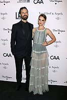 LOS ANGELES - OCT 3:  Benjamin Millepied, Natalie Portman at the L.A. Dance Project Annual Gala at the Hauser & Wirth on October 3, 2019 in Los Angeles, CA