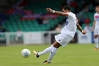 Corey Whitely of Dagenham takes a free kick during Eastleigh vs Dagenham & Redbridge, Vanarama National League Football at the Silverlake Stadium on 12th August 2017