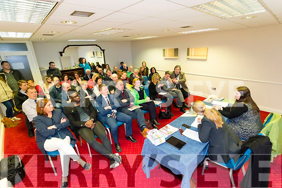 Almost 50 retailers attended the Tralee Traders meeting held in The Grand Hotel on Tuesday evening.