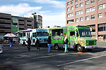 Employee giving Food Truck Event at Monmouth Medical Center