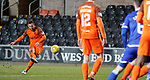 20.3.2018: Dundee Utd v Queen of the South<br /> Scott McDonald scores with a free-kick