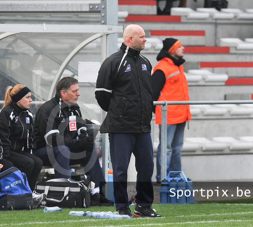 UEFA Women's Under 17 Championship - Second Qualifying round - group 1 : England - Iceland : .Thorlakur Arnasson.foto DAVID CATRY / Vrouwenteam.be