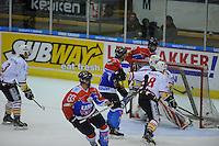 IJSHOCKEY: HEERENVEEN: 04-10-2013, IJsstadion Thialf, UNIS Flyers - Eaters Geleen 041013, ©foto Martin de Jong