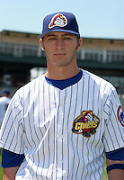 Peoria Chiefs Kyle Reynolds poses for a photo before a Midwest League game at O'Brien Field on July 16, 2006 in Peoria, Illinois.  (Mike Janes/Four Seam Images)