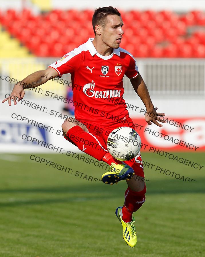 Fudbal Kup Srbije season 2013-2014<br /> Proleter Novi Sad v Crvena Zvezda<br /> Marko Vesovic<br /> Novi Sad, 25.09.2013.<br /> foto: Srdjan Stevanovic/Starsportphoto &copy;
