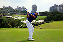 Matt Kuchar (USA) in action during the final round of the Omega Mission Hills World Cup played at The Blackstone Course, Mission Hills Golf Club on November 27th in Haikou, Hainan Island, China.( Picture Credit / Phil Inglis )
