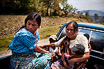 During the height of the civil war, from 1982-83, the military systematically burnt villages and churches, recruited men into civil patrols and raped women throughout the highlands of Guatemala, sending thousands of fleeing villagers into hiding in the surrounding mountains where they lived for over a decade.