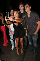 "WEST HOLLYWOOD, CA July 11- Al Calderon, Jenna Ushkowitz, Nolan Gerard Funk, Cheyenne Jackson,  At 2017 Outfest Los Angeles LGBT Film Festival Screening of ""Hello Again"" at The DGA Theater, California on July 11, 2017. Credit: Faye Sadou/MediaPunch"