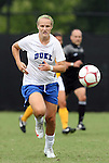 20 September 2009: Duke's Gretchen Miller. The Duke University Blue Devils played the Louisiana State University Tigers to a 2-2 tie after overtime at Koskinen Stadium in Durham, North Carolina in an NCAA Division I Women's college soccer game.