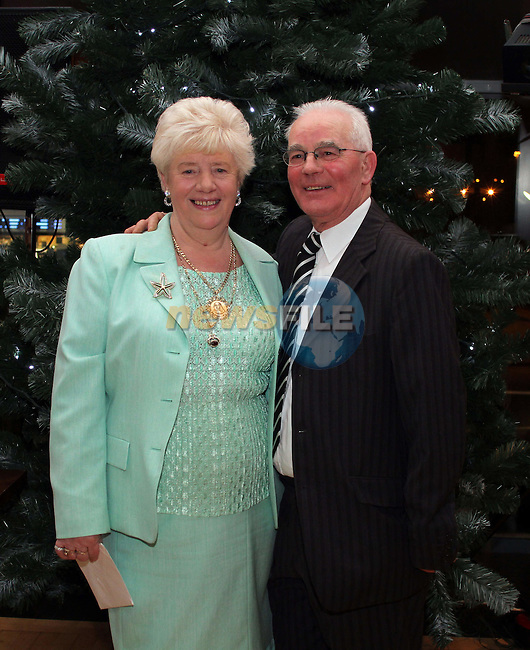 Ann Smith with her husband Paddy at her 70th in The Thatch...(Photo credit should read Jenny Matthews www.newsfile.ie)....This Picture has been sent you under the conditions enclosed by:.Newsfile Ltd..The Studio,.Millmount Abbey,.Drogheda,.Co Meath..Ireland..Tel: +353(0)41-9871240.Fax: +353(0)41-9871260.GSM: +353(0)86-2500958.email: pictures@newsfile.ie.www.newsfile.ie.