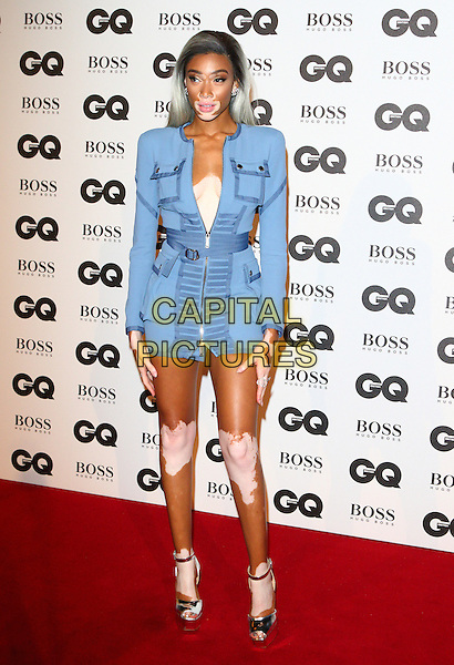 Winnie Harlow at the GQ Men of the Year Awards 2016 - in association with Hugo Boss -  Tate Modern, Bankside, London on 6th September 2016<br /> CAP/ROS<br /> &copy;ROS/Capital Pictures