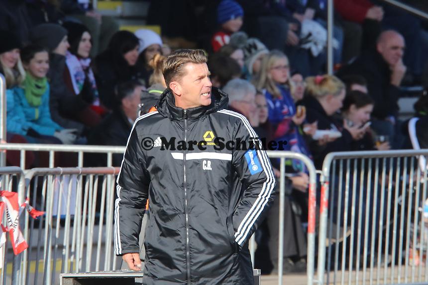 Trainer Colin Bell (FFC) - 1. FFC Frankfurt vs. TSG 1899 Hoffenheim