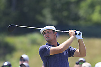 Bryson DeChambeau (USA) tees off the 9th tee during Saturday's Round 3 of the 118th U.S. Open Championship 2018, held at Shinnecock Hills Club, Southampton, New Jersey, USA. 16th June 2018.<br /> Picture: Eoin Clarke | Golffile<br /> <br /> <br /> All photos usage must carry mandatory copyright credit (&copy; Golffile | Eoin Clarke)