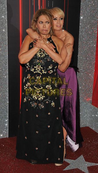 Nicole Barber-Lane and Lysette Anthony at the British Soap Awards 2017, The Lowry Theatre, Pier 8, Salford Quays, Salford, Manchester, England, UK, on Saturday 03 June 2017.<br /> CAP/CAN<br /> &copy;CAN/Capital Pictures