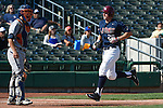May 22, 2015; Stockton, CA, USA; Loyola Marymount Lions infielder Jamey Smart (20) during the WCC Baseball Championship at Banner Island Ballpark.