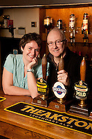 The Bull Inn, at Bottesford, run by Mark and Sarah Attewell