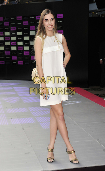 LONDON, ENGLAND - JULY 13: Amber Le Bon attends the 'Kasabian Summer Solstice 2014 gig' VIP screening, Vue West End cinema, Leicester Square, on Wednesday July 16, 2014 in London, England, UK. <br /> CAP/CAN<br /> &copy;Can Nguyen/Capital Pictures
