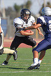 Torrance, CA 09/05/13 - Nick Orlando (Peninsula #27) in action during the Peninsula vs North Junior Varsity football game played at North High School in Torrance, California.