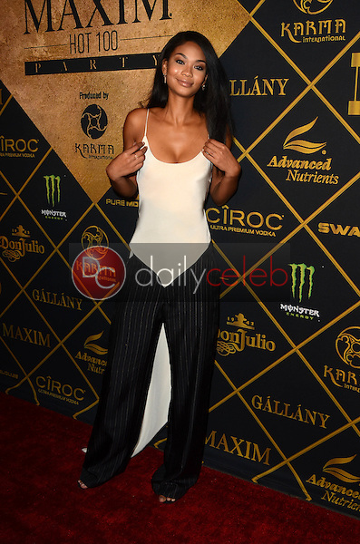 Chanel Iman<br /> at the 2016 Maxim Hot 100 Party, Hollywood Palladium, Hollywood, CA 07-30-16<br /> David Edwards/DailyCeleb.com 818-249-4998