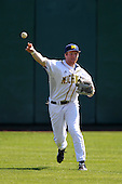 Kevin Krantz #28 of the Michigan Wolverines during the Big East-Big Ten Challenge vs. the St. John's Red Storm at Al Lang Field in St. Petersburg, Florida;  February 19, 2011.  St. John's defeated Michigan 13-6.  Photo By Mike Janes/Four Seam Images