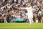Real Madrid's Sergio Ramos during Champions League 2015/2016 Semi-Finals 2nd leg match at Santiago Bernabeu in Madrid. May 04, 2016. (ALTERPHOTOS/BorjaB.Hojas)