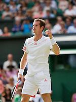 28-06-12, England, London, Tennis , Wimbledon, Andy Murray
