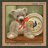 GIORDANO, CUTE ANIMALS, LUSTIGE TIERE, ANIMALITOS DIVERTIDOS, Teddies, paintings+++++,USGI2773,#AC# teddy bears