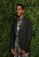 NEW YORK, NY - NOVEMBER 6: Christian Combs at the 14th Annual CFDA Vogue Fashion Fund Gala at Weylin in Brooklyn, New York City on November 6, 2017. <br /> CAP/MPI/JP<br /> &copy;JP/MPI/Capital Pictures