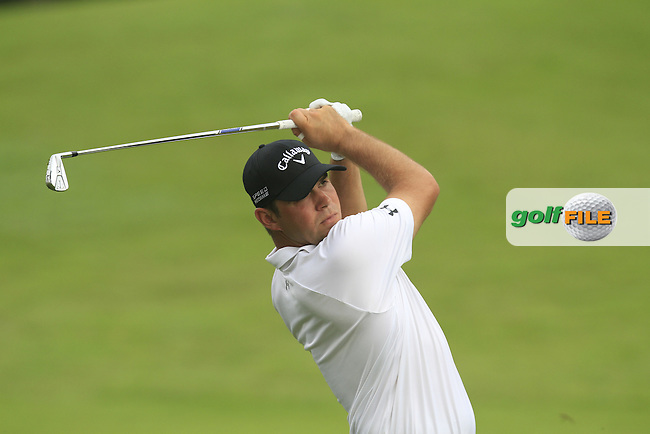 Gary Woodland (USA) on the 5th during Round 3 of the CIMB Classic in the Kuala Lumpur Golf &amp; Country Club on Saturday 1st November 2014.<br /> Picture:  Thos Caffrey / www.golffile.ie
