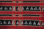 ANTIQUE ATTAPEU BODY CLOTH WITH BEADED WEAVING.