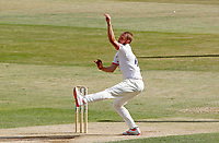 Jamie Porter of Essex in bowling action during Essex CCC vs Kent CCC, Bob Willis Trophy Cricket at The Cloudfm County Ground on 3rd August 2020
