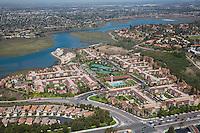 Newport Beach Aerial Stock Photo