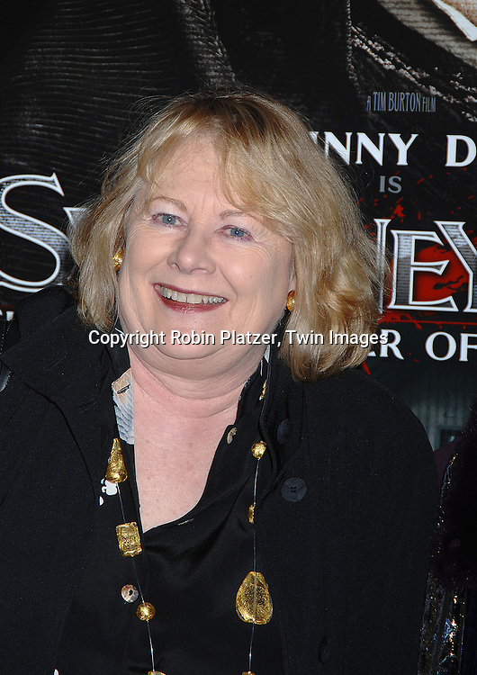 "Shirley Knight .arriving at the New York Premiere of ""Sweeney Todd"" starring Johnny Deep on December 3, 2007 at The Ziegfeld Theatre in New York City. .Robin Platzer, Twin Images"