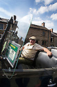 16/08/16<br /> <br /> Steven White.<br /> <br /> You'd be forgiven for thinking you'd had one drink too many if you called a cab in this Derbyshire Peak District village, because you'll get a 1929 vintage Model A Ford turn up as it's the only taxi in town!<br /> <br /> Full story here: https://fstoppressblog.wordpress.com/vintage-car-is-the-only-taxi-in-town/<br /> <br /> What's more, it's the oldest vehicle licensed for private hire in the UK, as cars usually have to be less than three years old to get a licence.<br /> <br /> But thanks to a special exemption to get round not having seat belts and the usual modern specifications, this fabulous-looking car is a regular sight pootling around the narrow lanes of the Derbyshire Dales.<br /> <br /> So when Debbie Slater needed a ride home from the Old Bowling Green pub in Winster she knew exactly who to call for an open-top ride in the sunshine.<br /> <br /> All Rights Reserved, F Stop Press Ltd. +44 (0)1773 550665