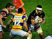 Vaea Fifita in action during the Mitre 10 Cup rugby union match between Bay of Plenty and Wellington at Rotorua International Stadium in Rotorua, New Zealand on Thursday, 31 August 2017. Photo: Dave Lintott / lintottphoto.co.nz