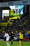 09.02.2019, Signal Iduna Park, Dortmund, GER, 1.FBL, Borussia Dortmund vs TSG 1899 Hoffenheim, DFL REGULATIONS PROHIBIT ANY USE OF PHOTOGRAPHS AS IMAGE SEQUENCES AND/OR QUASI-VIDEO<br /> <br /> im Bild | picture shows:<br /> Anzeigetafel mit Zwischenstand 3:0,  <br /> <br /> Foto © nordphoto / Rauch