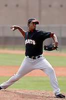 Audy Santana  - San Francisco Giants - 2009 extended spring training.Photo by:  Bill Mitchell/Four Seam Images