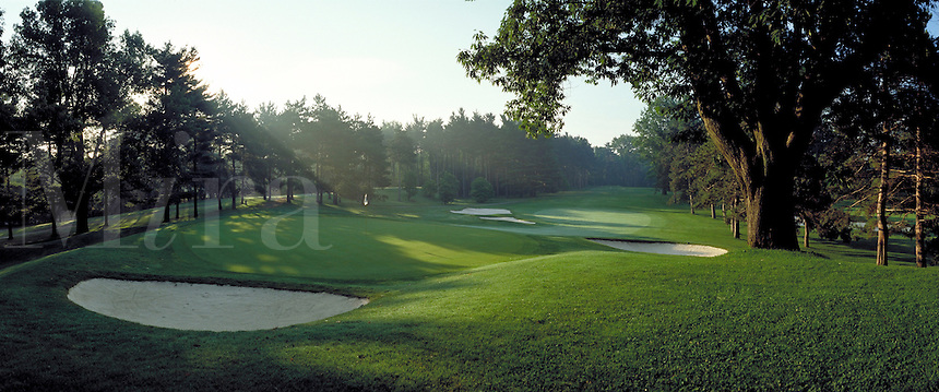Oak Hill Country Club - hole #3. Rochester New York United States Oak Hill Country Club.